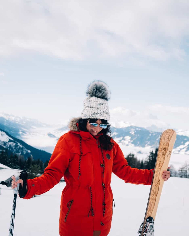 Ski selber bauen in Sankt Johann & Testfahrt im Snowspace Salzburg 17