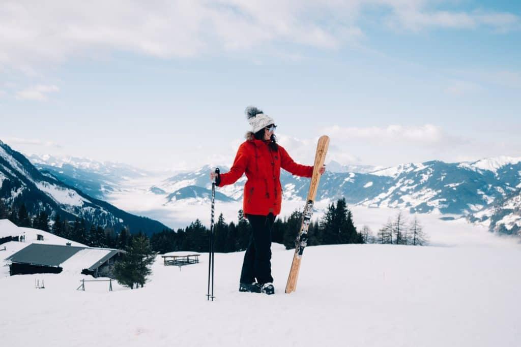 Skifahren lernen als Erwachsene #10 - Skitour für Anfänger und wie ich meine eigenen Ski gebaut habe (Skitag 22-24)