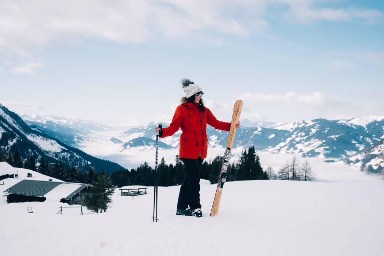 Ski selber bauen in Sankt Johann & Testfahrt im Snowspace Salzburg 18