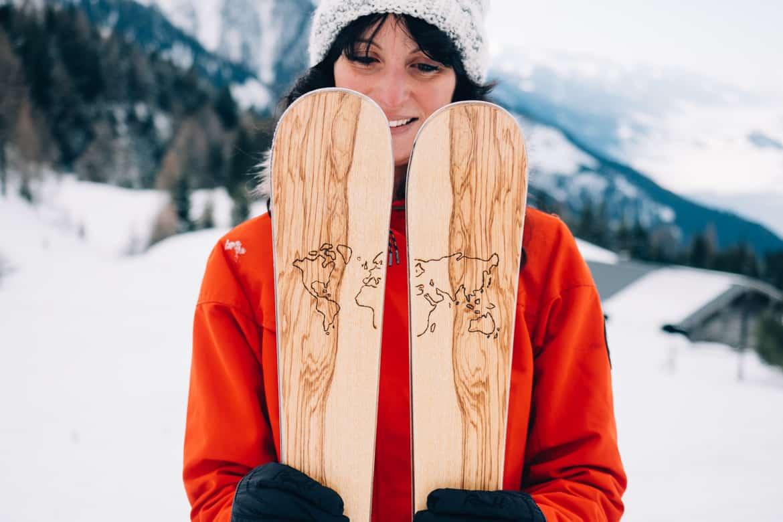 Ski selber bauen in Sankt Johann & Testfahrt im Snowspace Salzburg 20
