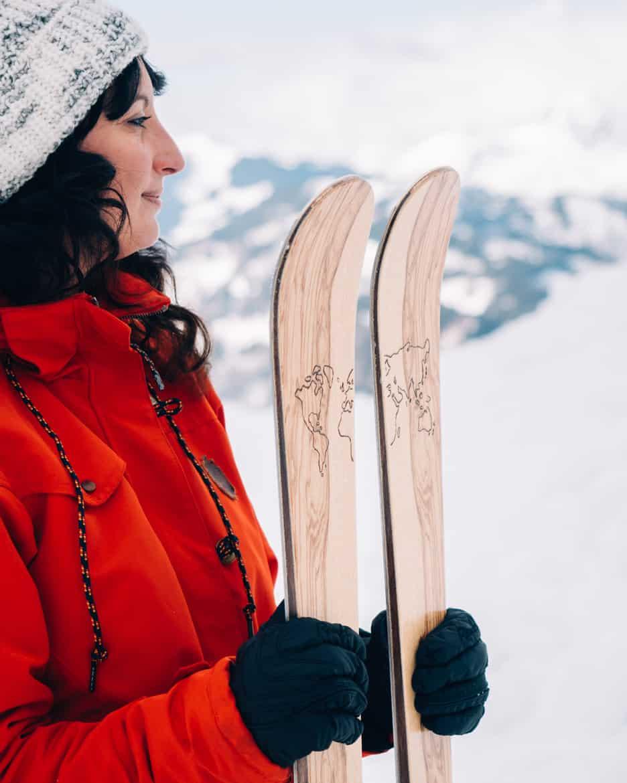 Ski selber bauen in Sankt Johann & Testfahrt im Snowspace Salzburg