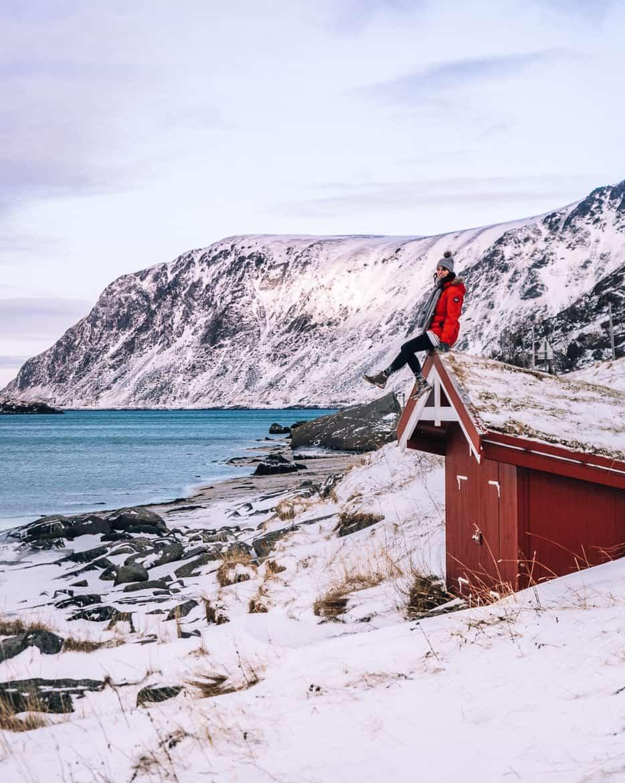 März Update - Die Nordländerin in mir und wie ich mich in die Lofoten verliebte: Einsame Strände Lofoten