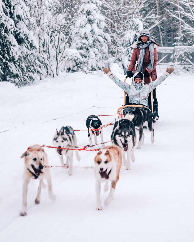 Vuokatti-Finnland-Winter-Abenteuer-Hundeschlitten-Huskey-3