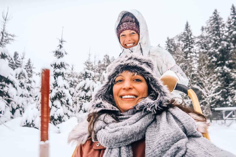 Vuokatti-Finnland-Winter-Abenteuer-Hundeschlitten-Huskey-2