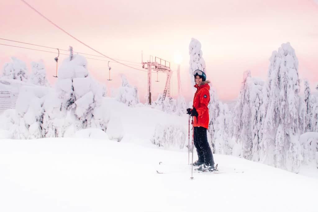 Skifahren lernen als Erwachsene #11 - Skifahren in Finnland in Vuokatti und Koli (Skitag 25-27)