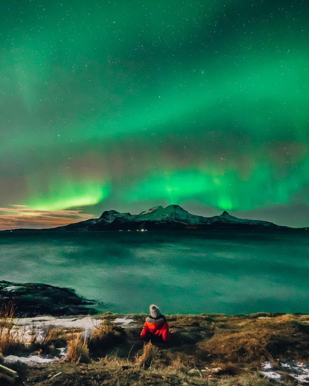 Bodø - Nordlichter, Streetart & unbändige Natur in Nordnorwegen - Nordlichter 2