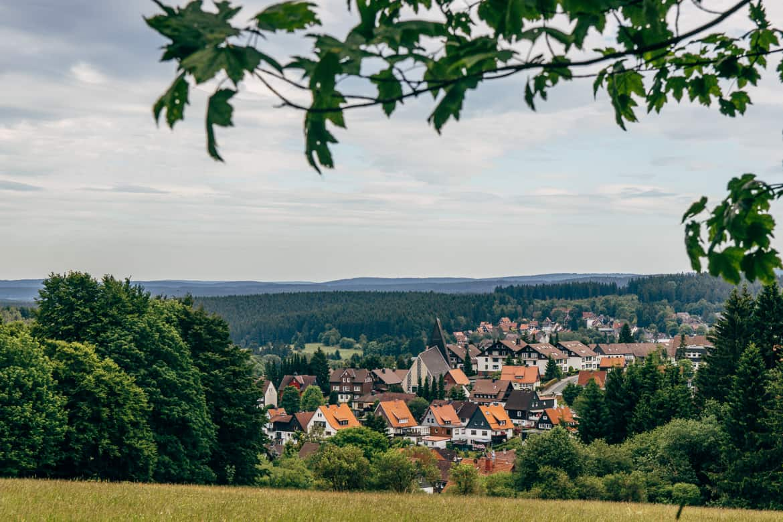 Harzüberquerung in zwei Tagen auf dem Kaiserweg von Bad Harzburg nach Walkenried 11