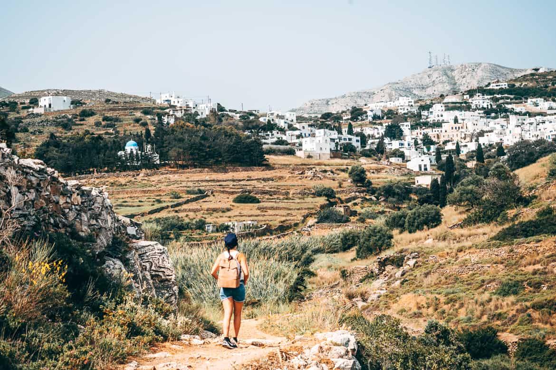 Urlaub auf Paros - Inselhopping auf den Kykladen: Wandern in und um Lefkes