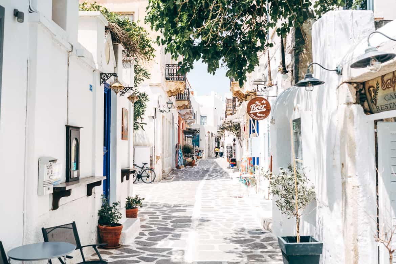 Urlaub auf Paros - Inselhopping auf den Kykladen: Altstadt von Parikia