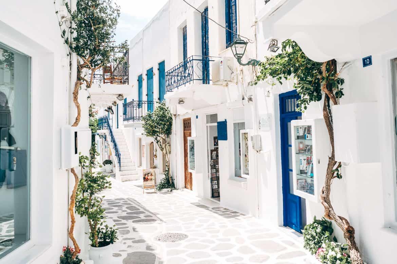 Urlaub auf Paros - Inselhopping auf den Kykladen: Altstadt von Parikia 2