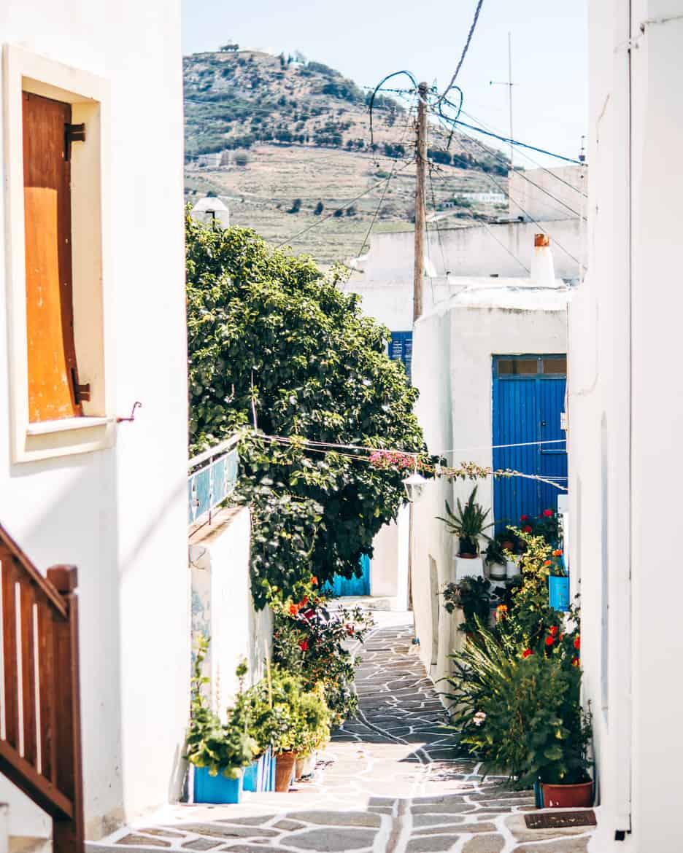 Urlaub auf Paros - Inselhopping auf den Kykladen: In den Gassen von Marpissa