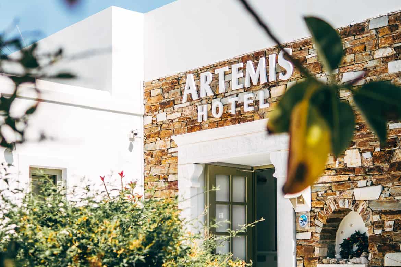 Geheimtipp Antiparos - Inselhopping auf den Kykladen - Artemis Hotel