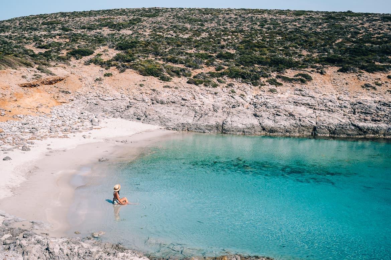 Geheimtipp Antiparos - Inselhopping auf den Kykladen - Faneromeni Beach