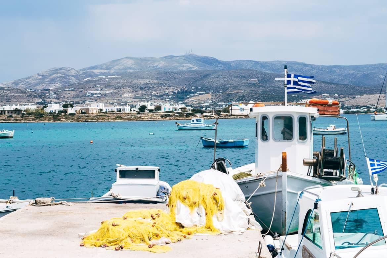 Geheimtipp Antiparos - Inselhopping auf den Kykladen - Hafen