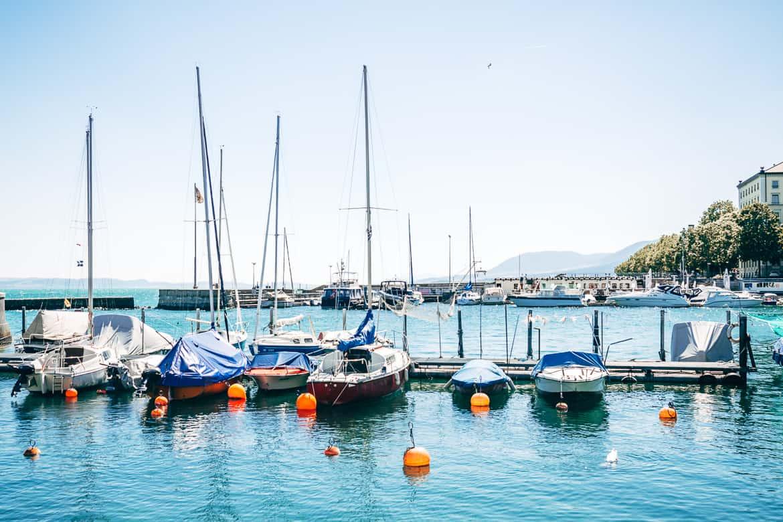 Jura & Drei-Seen-Land - 6 besondere Orte zum Natur genießen - Im Hafen von Neuenburg / Neuchâtel
