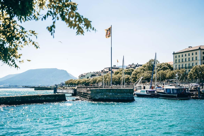 Jura & Drei-Seen-Land - 6 besondere Orte zum Natur genießen - Im Hafen von Neuenburg / Neuchâtel 2