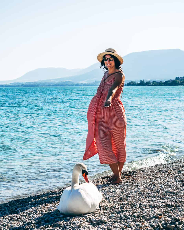 Jura & Drei-Seen-Land - 6 besondere Orte zum Natur genießen - Am Strand von Neuenburg / Neuchâtel