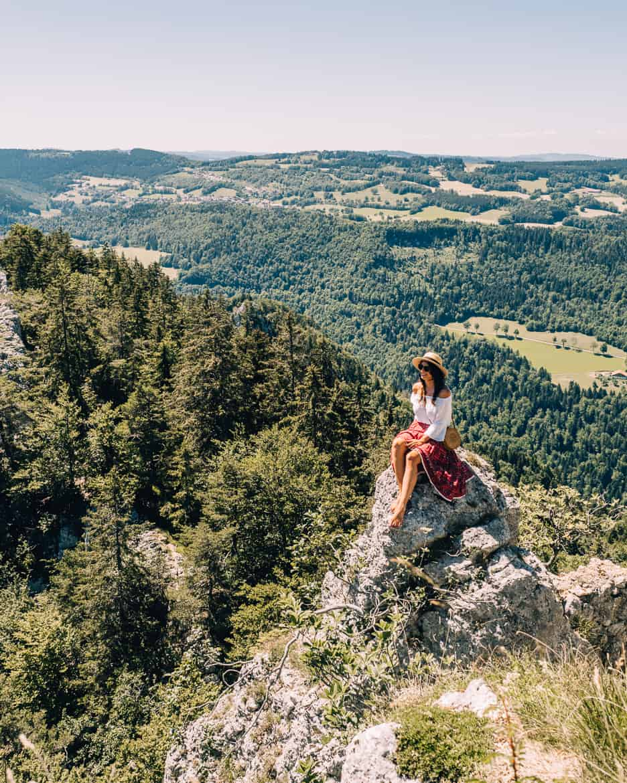 Jura & Drei-Seen-Land - 6 besondere Orte zum Natur genießen - Auf dem Gipfel des Sommetre Grats