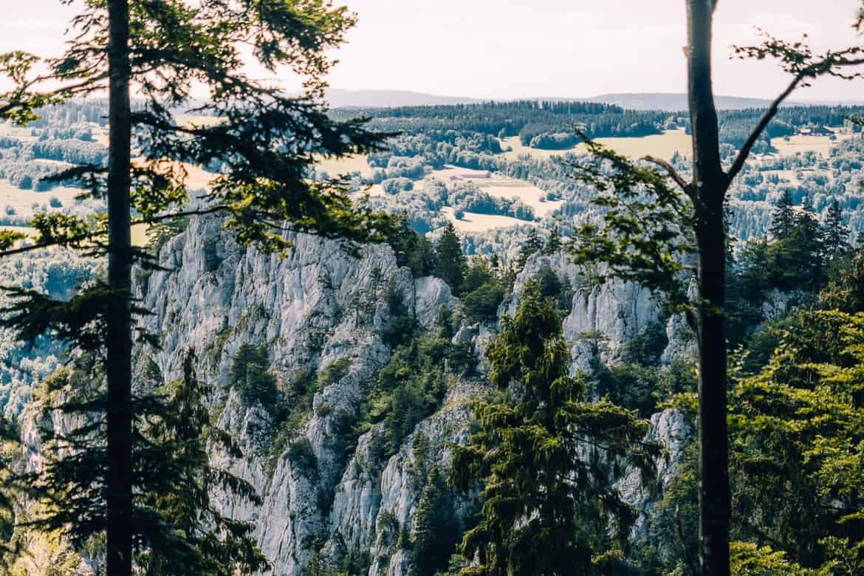 Jura & Drei-Seen-Land - 6 besondere Orte zum Natur genießen - Der Sommetre Grat
