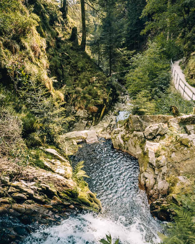 Sommer im Renchtal - ein Hauch Toskana im Schwarzwald: Allerheiligen Wasserfälle 4