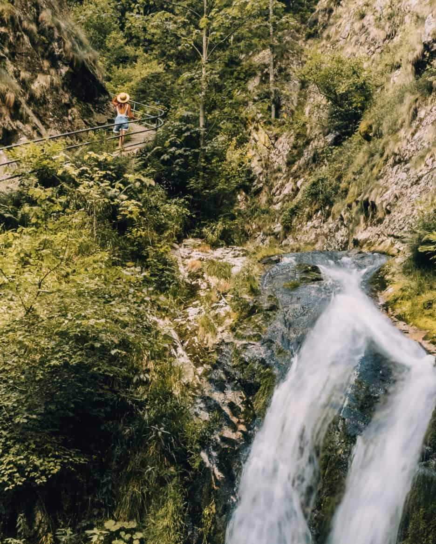 Sommer im Renchtal - ein Hauch Toskana im Schwarzwald: Allerheiligen Wasserfälle 7