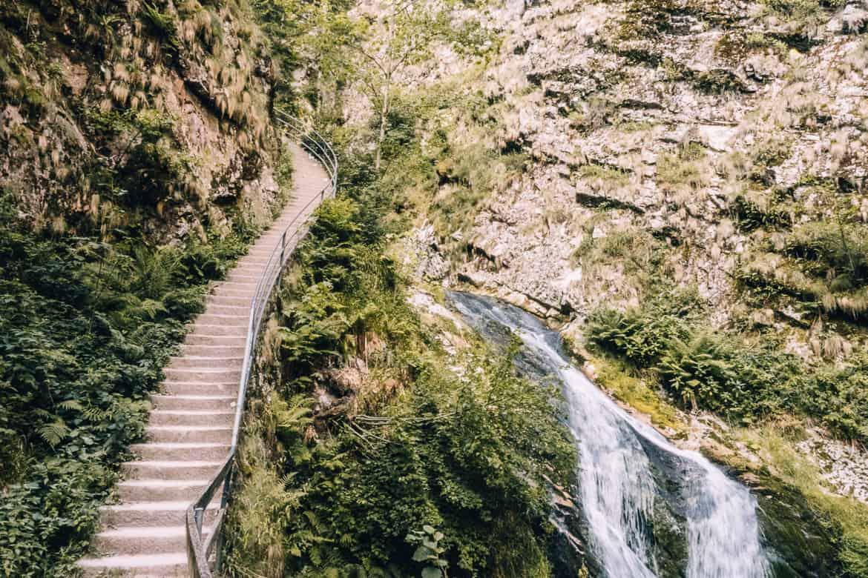 Sommer im Renchtal - ein Hauch Toskana im Schwarzwald: Allerheiligen Wasserfälle 5