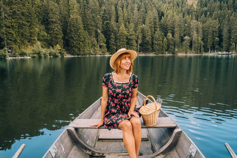 Sommer im Renchtal - ein Hauch Toskana im Schwarzwald: Ausflug Mummelsee Ruderboot 2