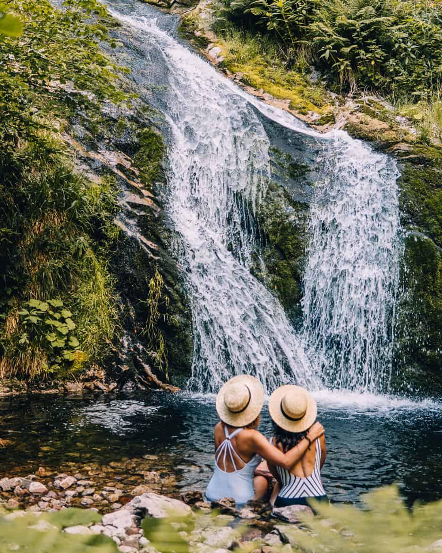 Sommer im Renchtal - ein Hauch Toskana im Schwarzwald: Allerheiligen Wasserfälle 6