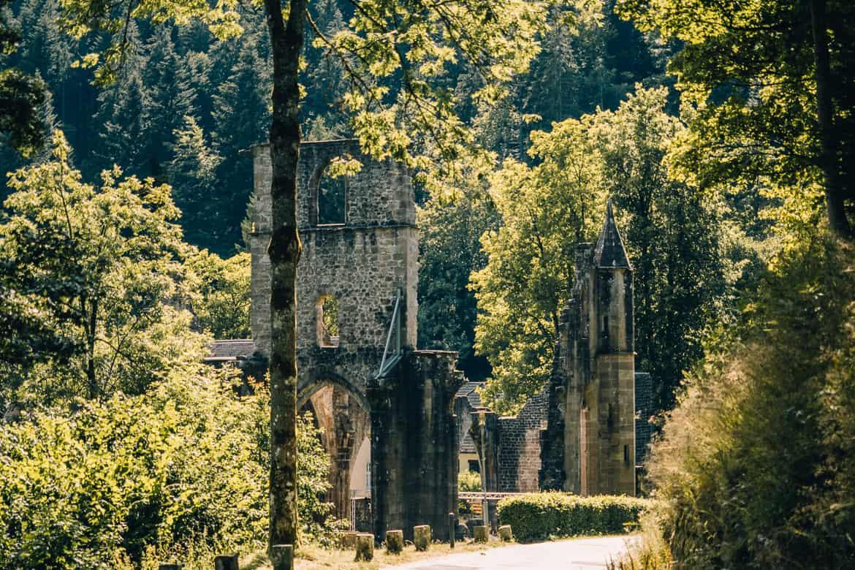 Sommer im Renchtal - ein Hauch Toskana im Schwarzwald: Allerheiligen Klosterruine