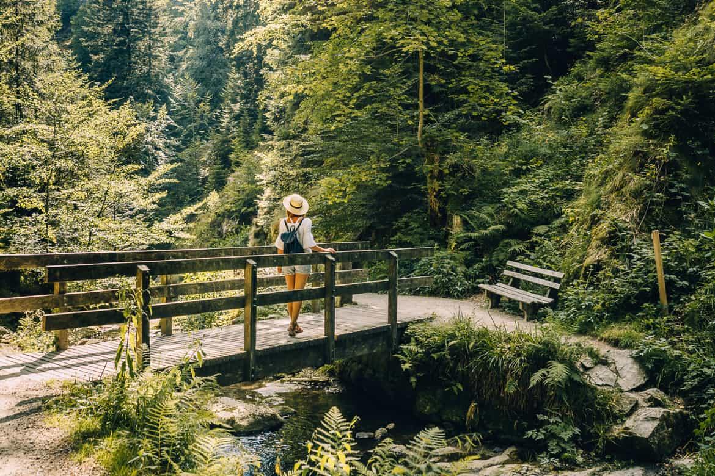 Sommer im Renchtal - ein Hauch Toskana im Schwarzwald: Allerheiligen Wasserfälle