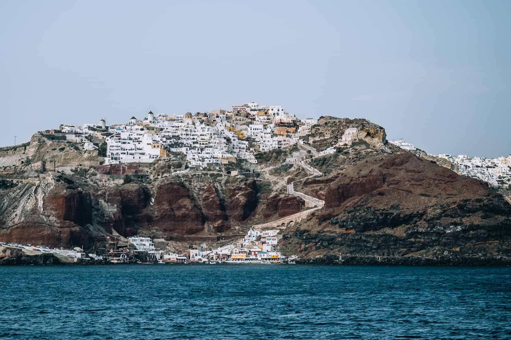 Santorini Travel Guide: Anreise mit der Fähre