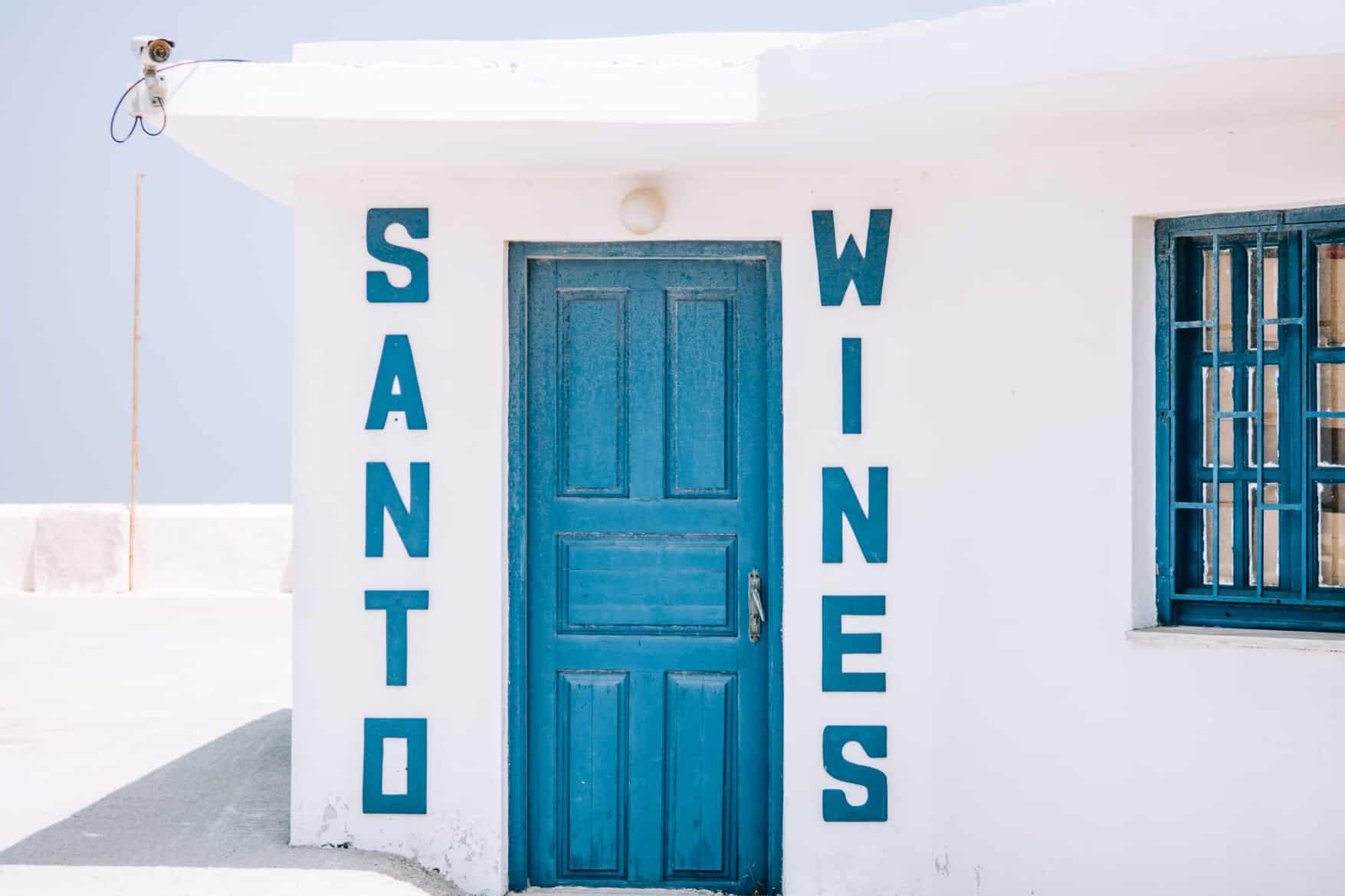 Santorini Travel Guide: Besuch der Santo Winery