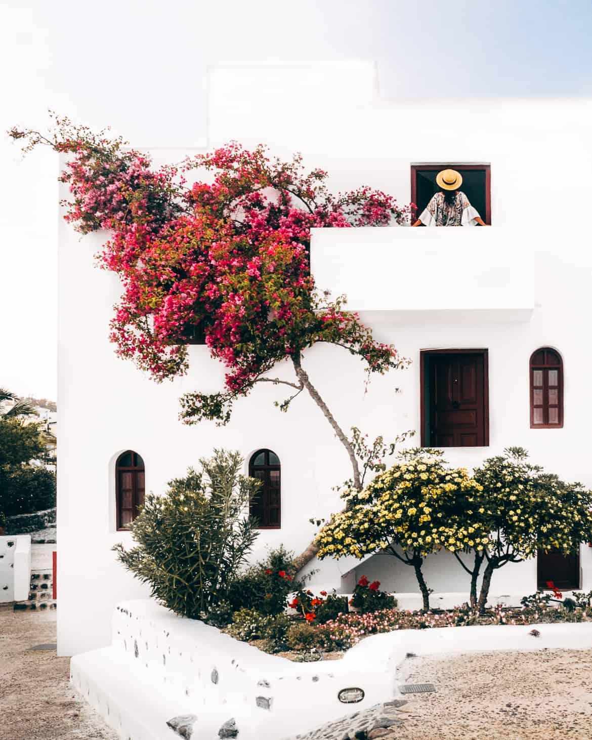 Santorini Travel Guide: Vendema Resort, Balkon