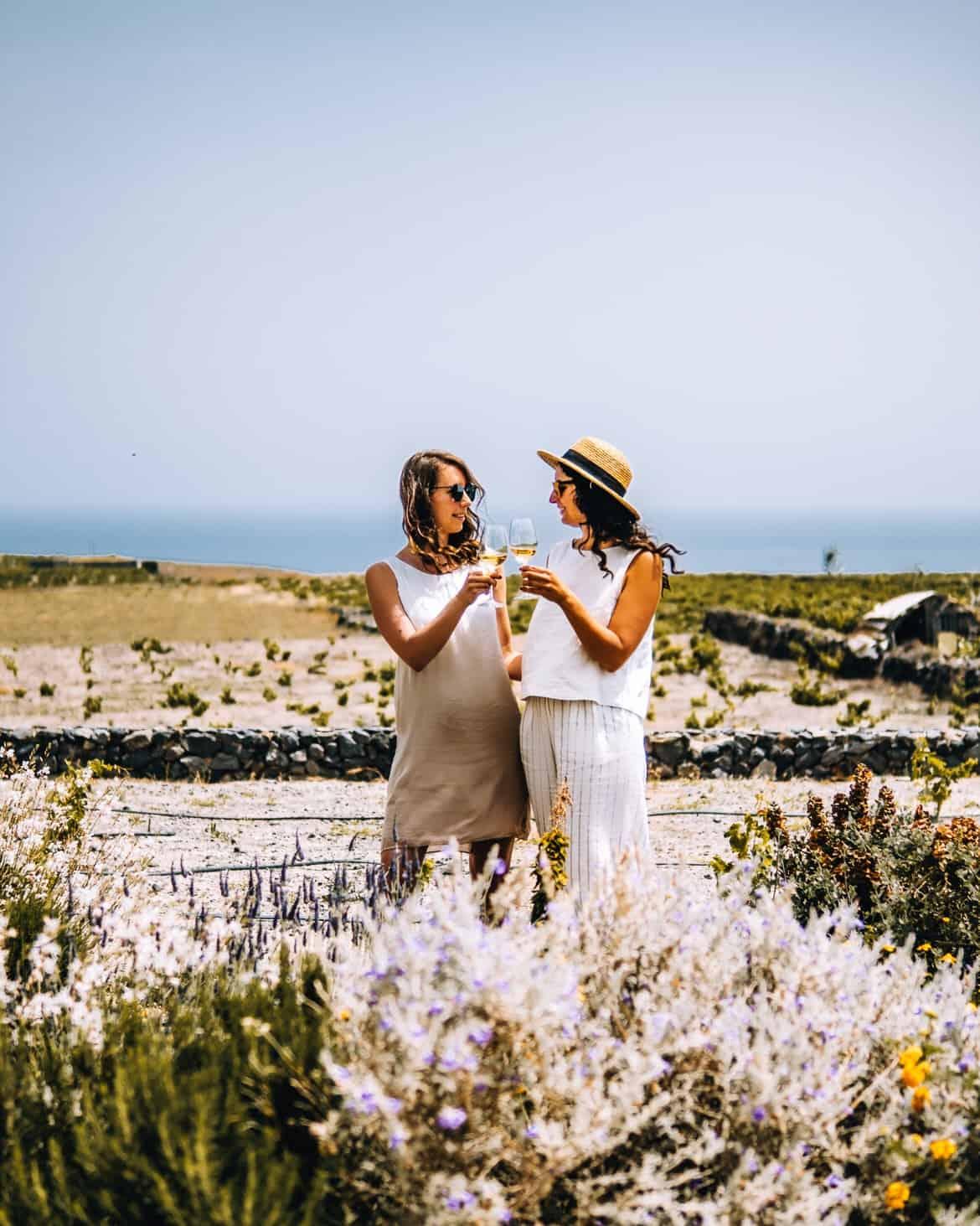Santorini Travel Guide: Weinprobe in der Vassalitis Winery