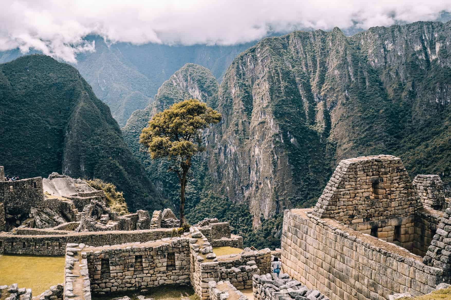 Machu Picchu Guide - während der Führung