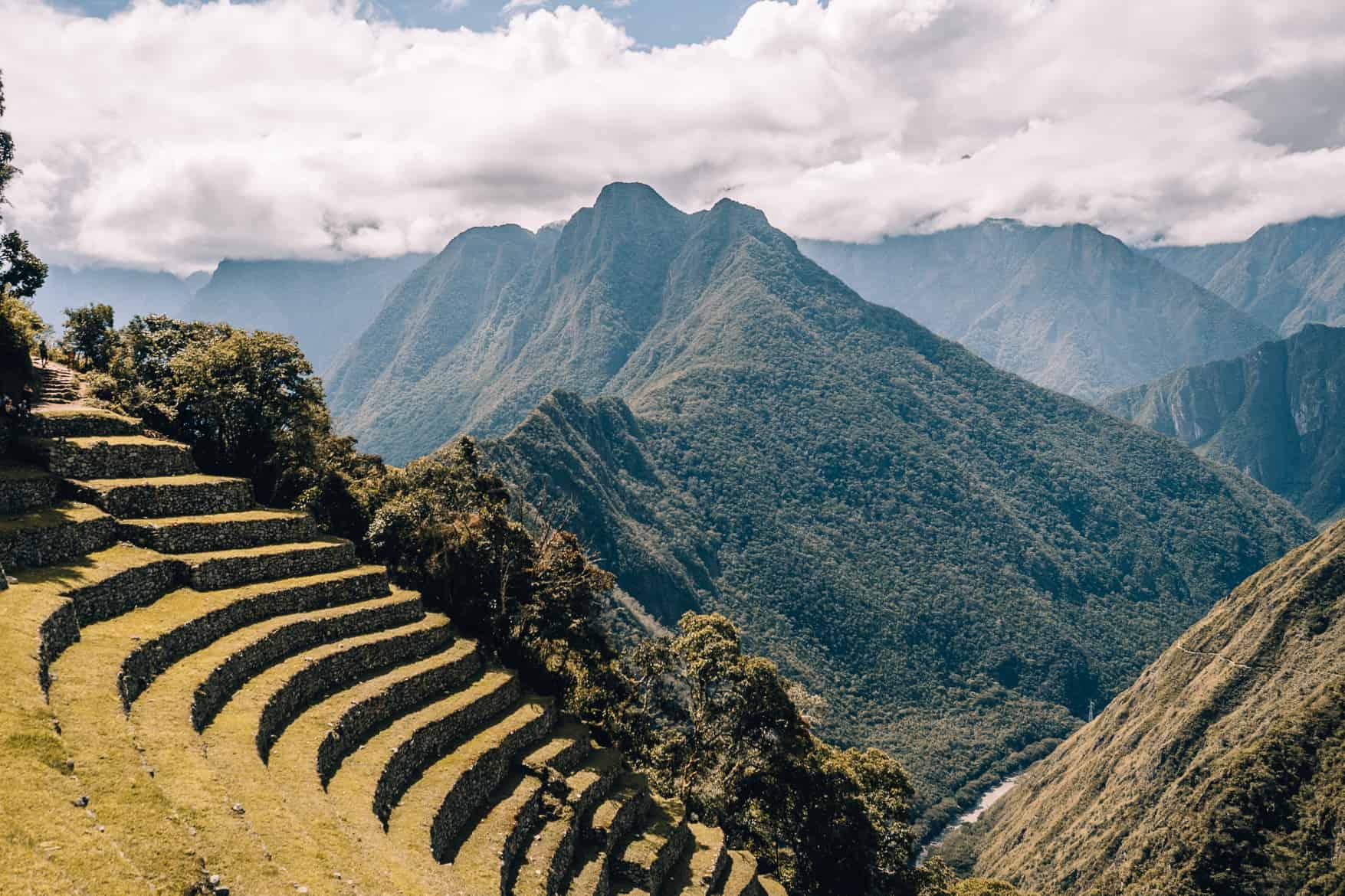 Machu Picchu Guide - Terrassen von Wiñayhuayna