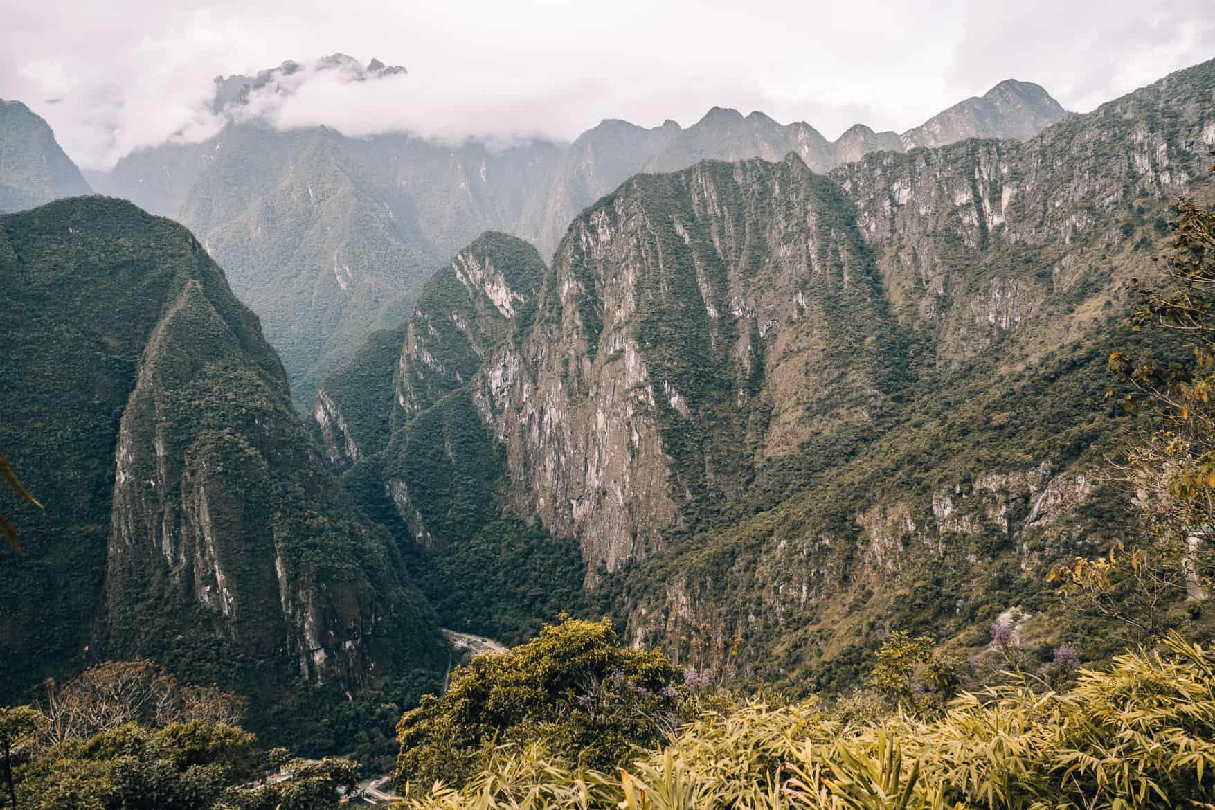 Machu Picchu Guide - Die Umgebung