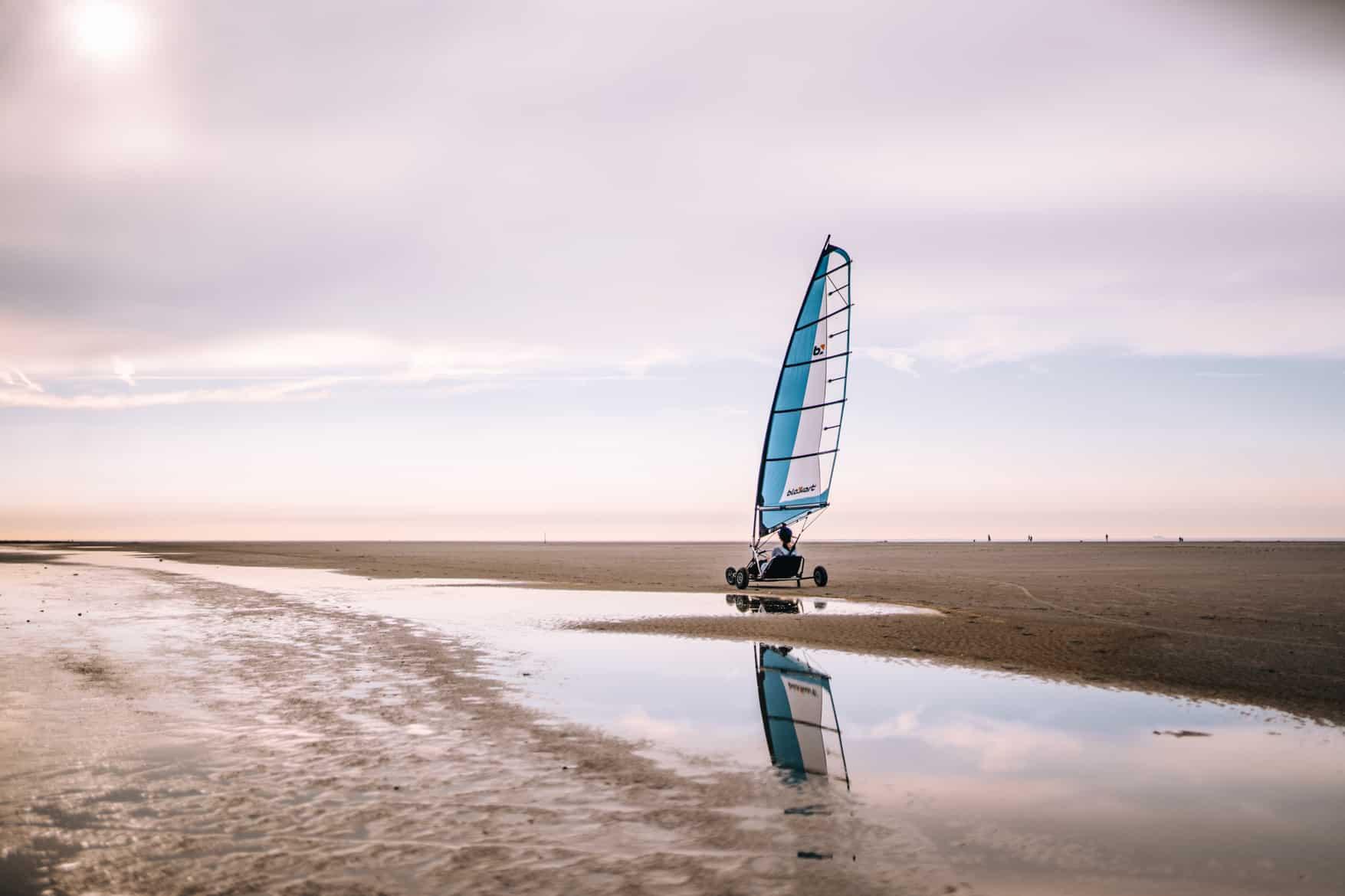 Schiermonnikoog Strandsegeln