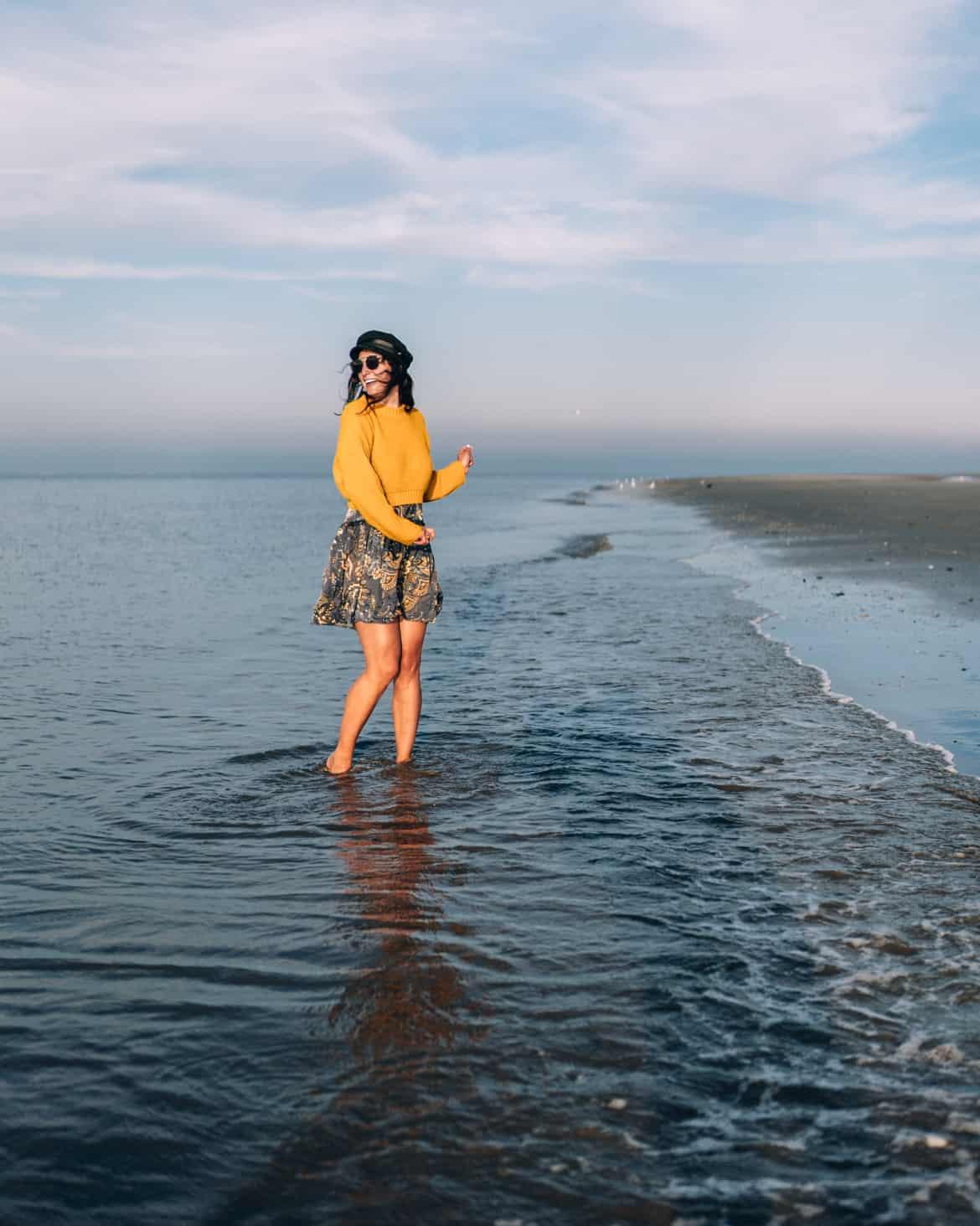 Schiermonnikoog Strandspaziergang