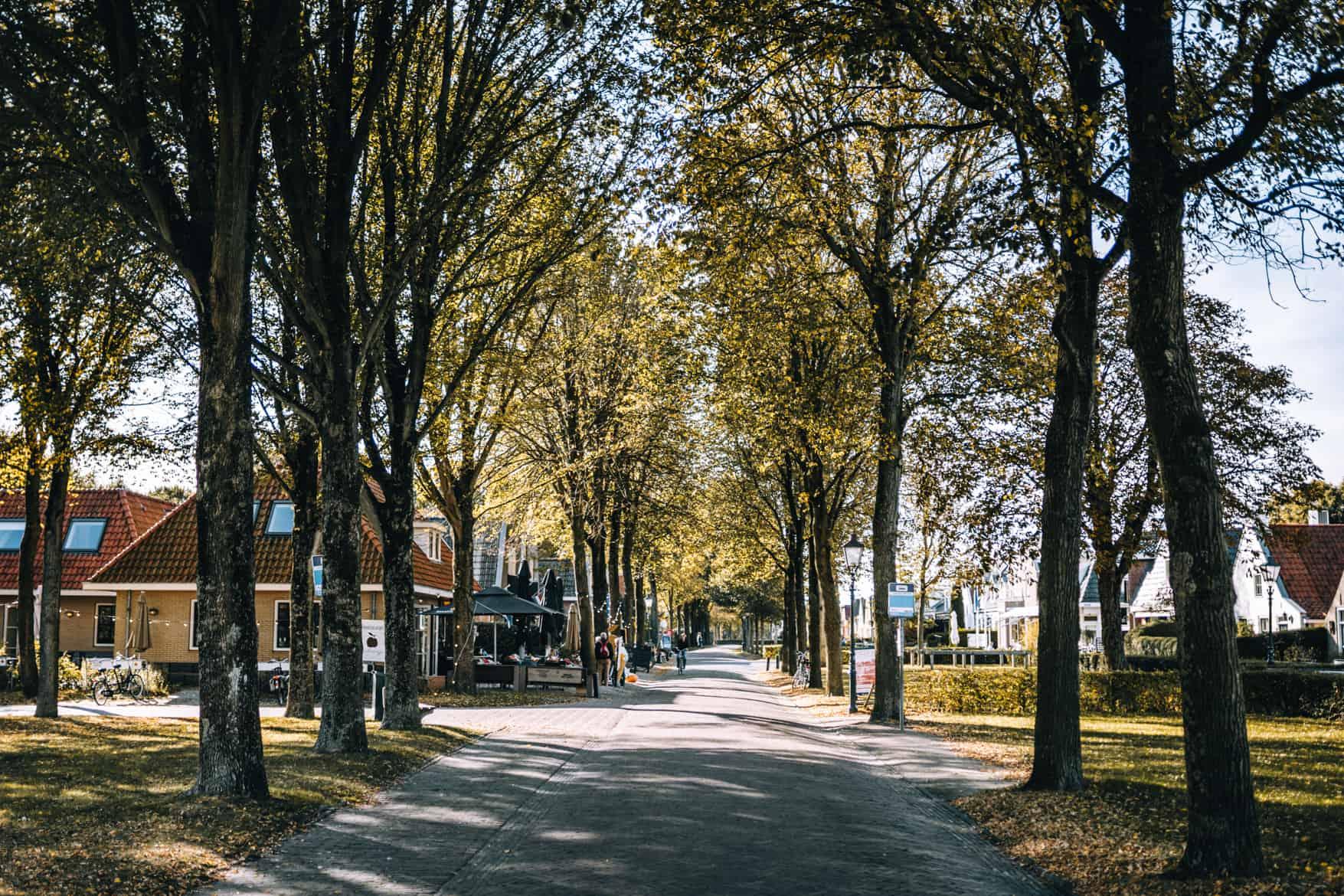 Schiermonnikoog Stadtbummel durch den Ort