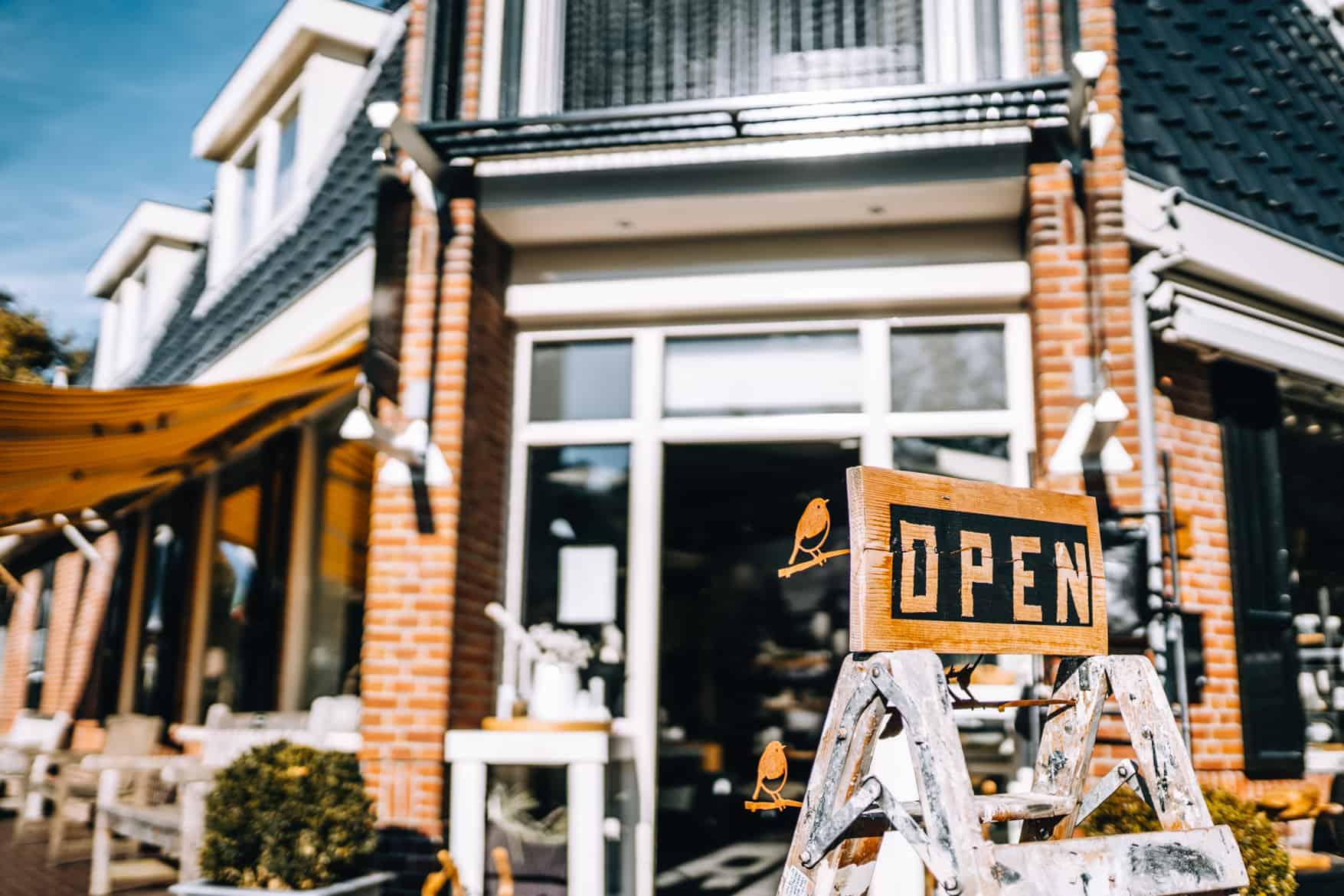 Schiermonnikoog Stadtbummel / kleine Shops