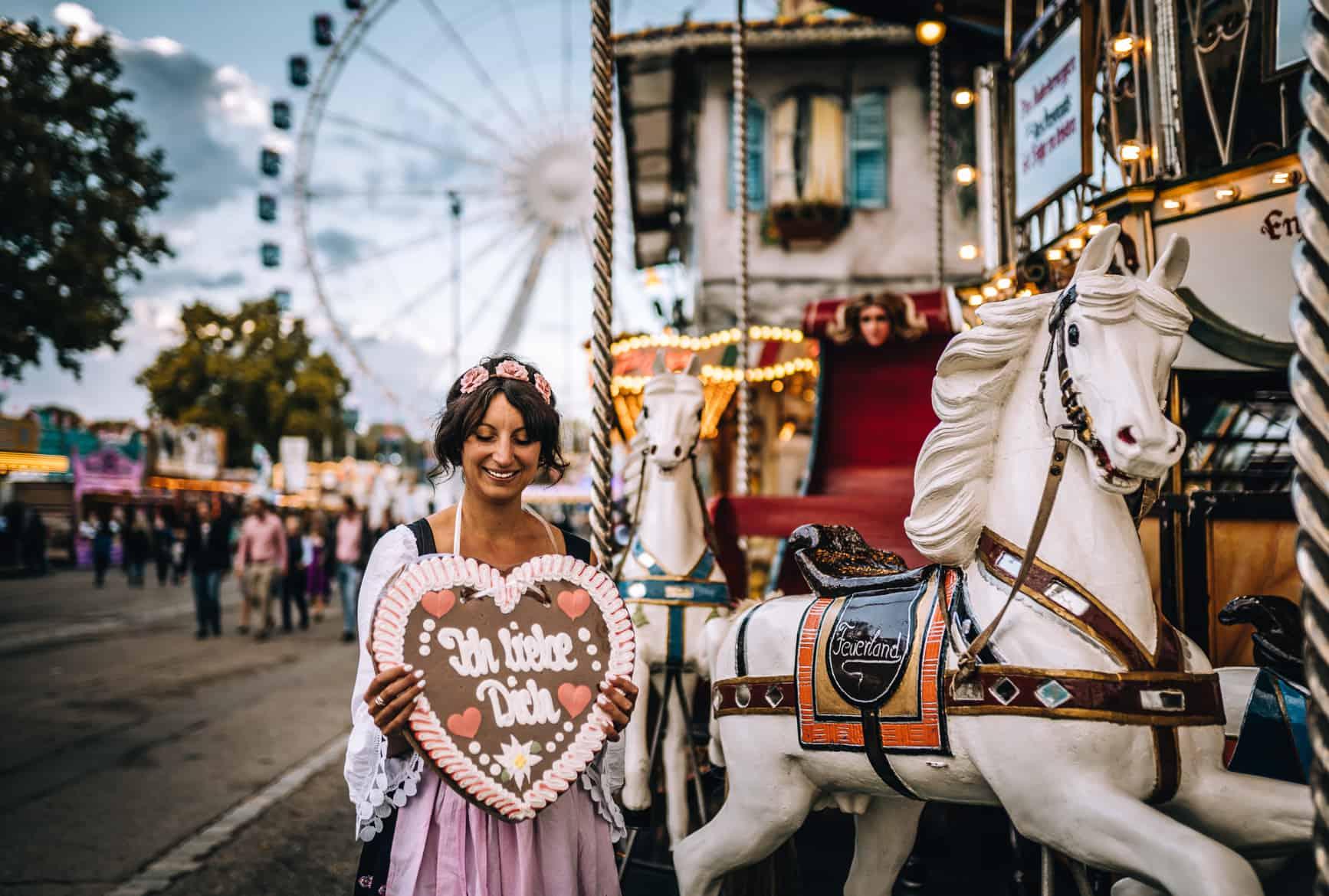Stuttgart im Herbst - Cannstatter Wasen, Kürbisfestival & #tastyStuttgart: Riesenrad & Lebkuchenherz