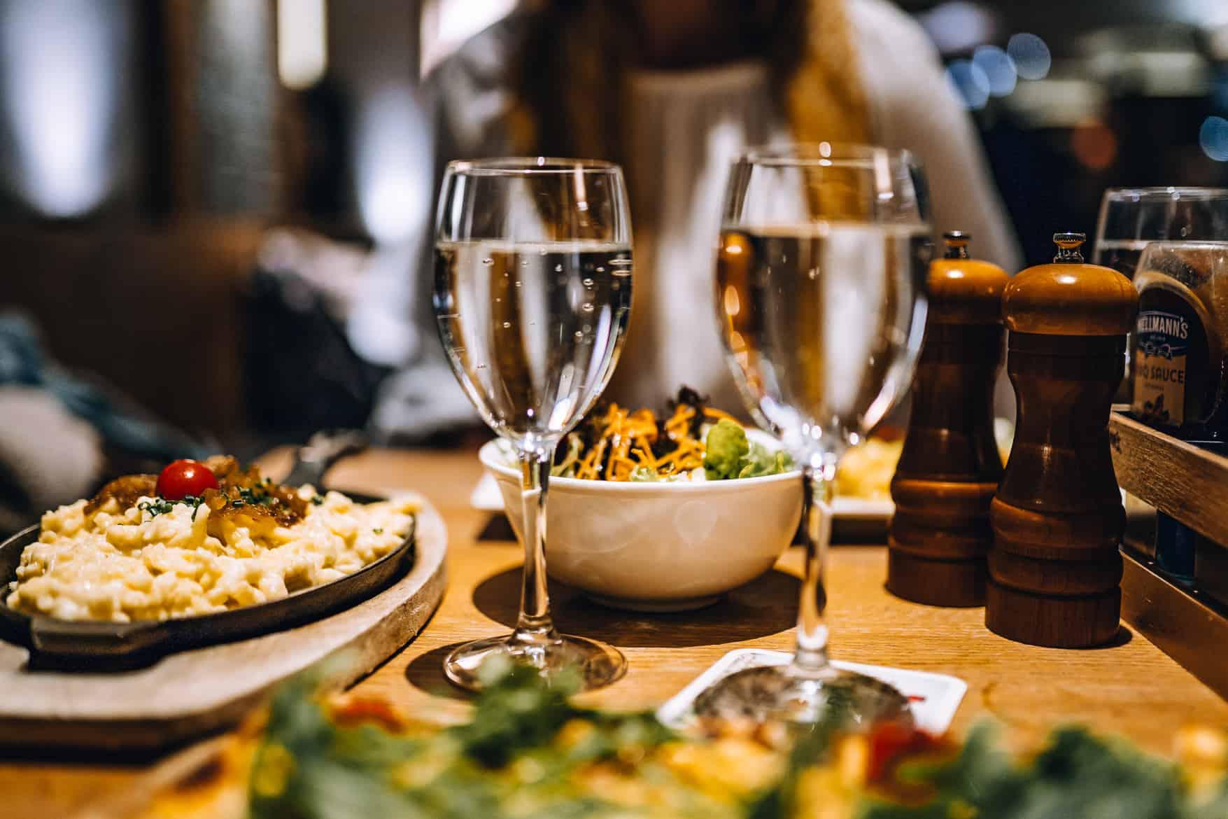 Stuttgart im Herbst - Cannstatter Wasen, Kürbisfestival & #tastyStuttgart: Essen im Carls Brauhaus