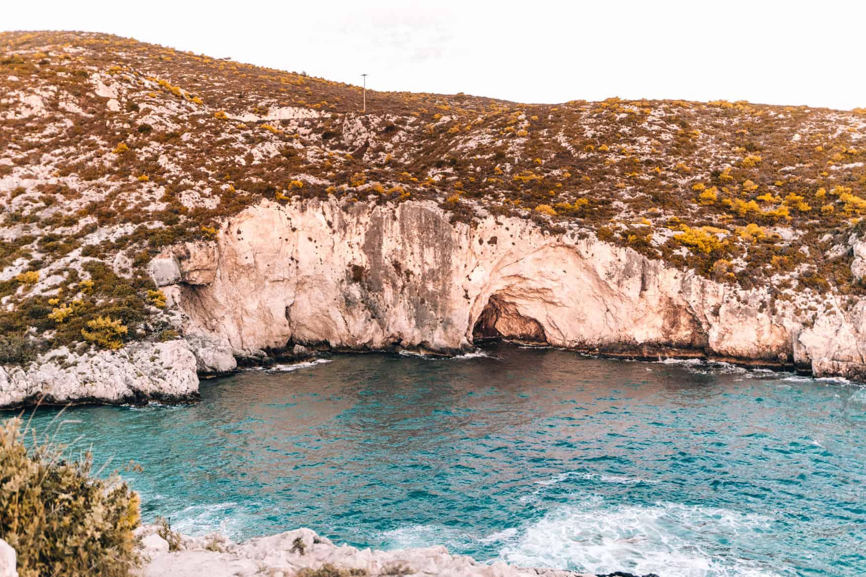 Zakynthos Urlaub - Port Limnionas, Ausblick