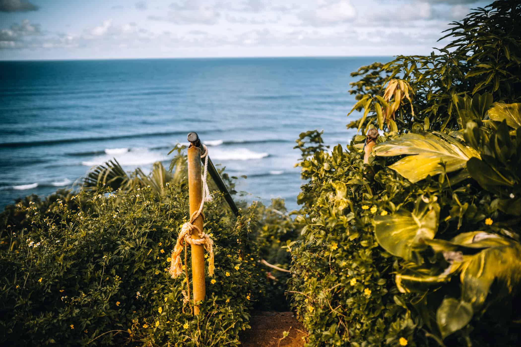 Kauai - Strände, Wandern & Ausflugsziele: Die Garteninsel von HawaiiKauai - Strände, Wandern & Ausflugsziele: Weg zum Hideaway Beach in Priceville