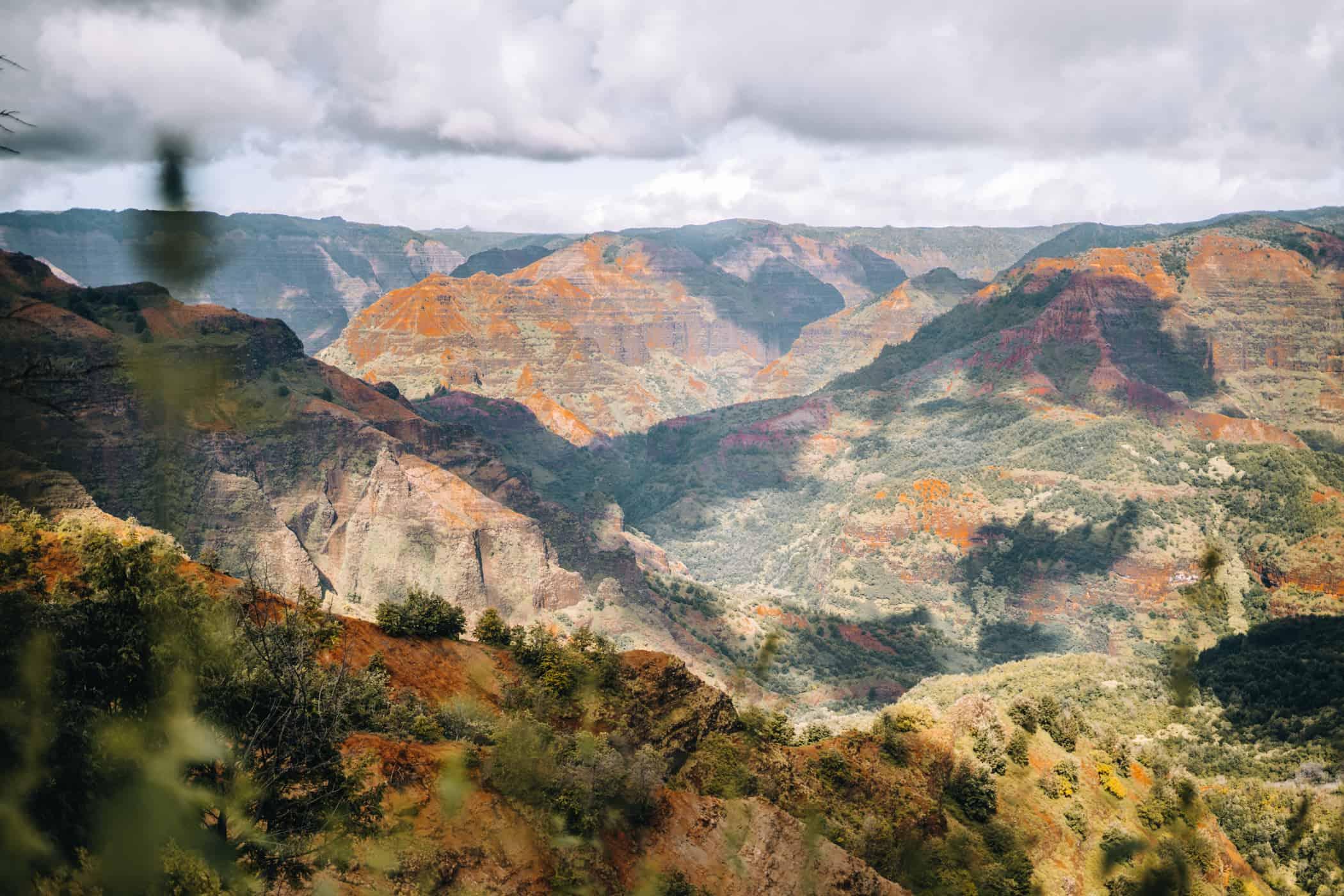 Kauai - Strände, Wandern & Ausflugsziele: Waimea Canyon