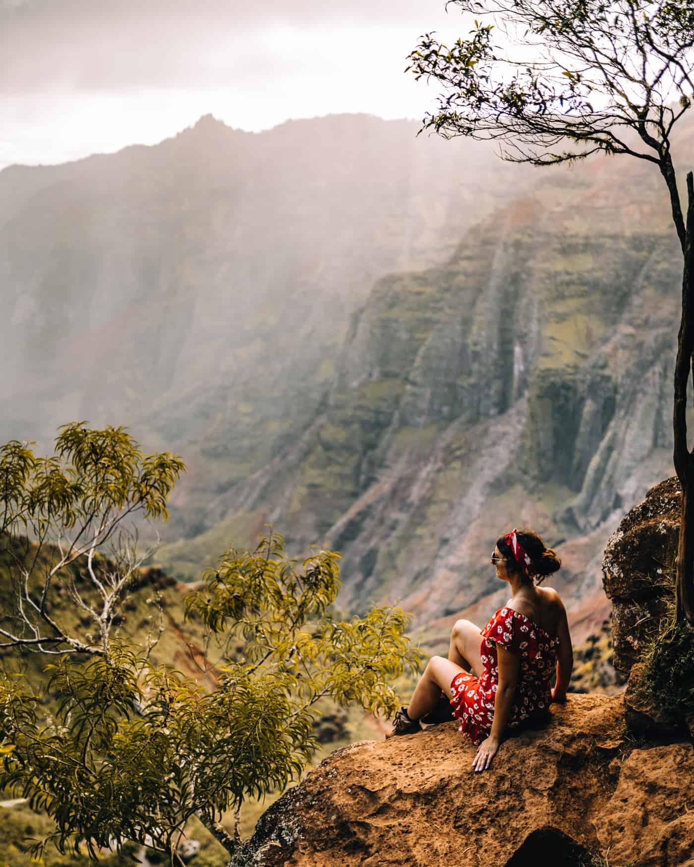 Kauai - Strände, Wandern & Ausflugsziele: Aussicht auf den Waimea Canyon
