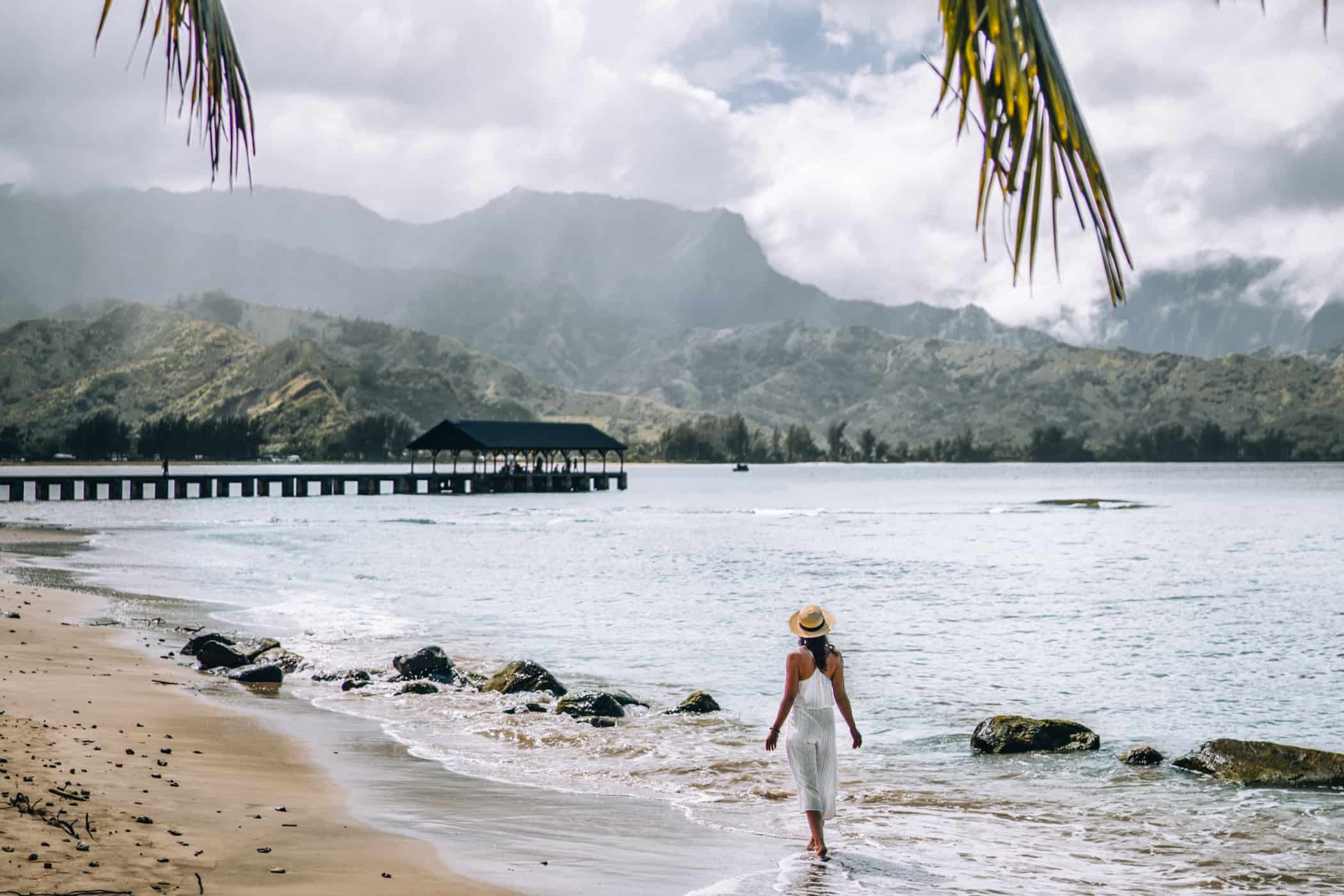 Kauai - Strände, Wandern & Ausflugsziele: Die Garteninsel von HawaiiKauai - Strände, Wandern & Ausflugsziele: Hanalei Beach