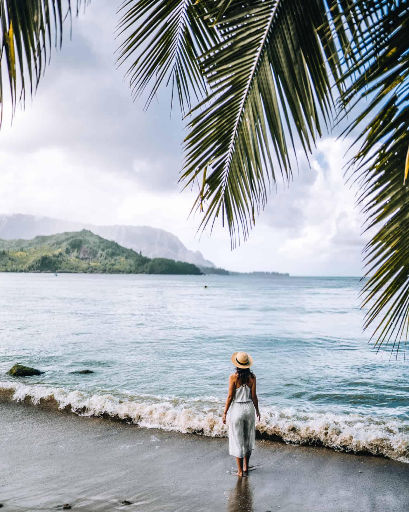 Kauai - Strände, Wandern & Ausflugsziele: Die Garteninsel von HawaiiKauai - Strände, Wandern & Ausflugsziele: Am Hanalei Beach