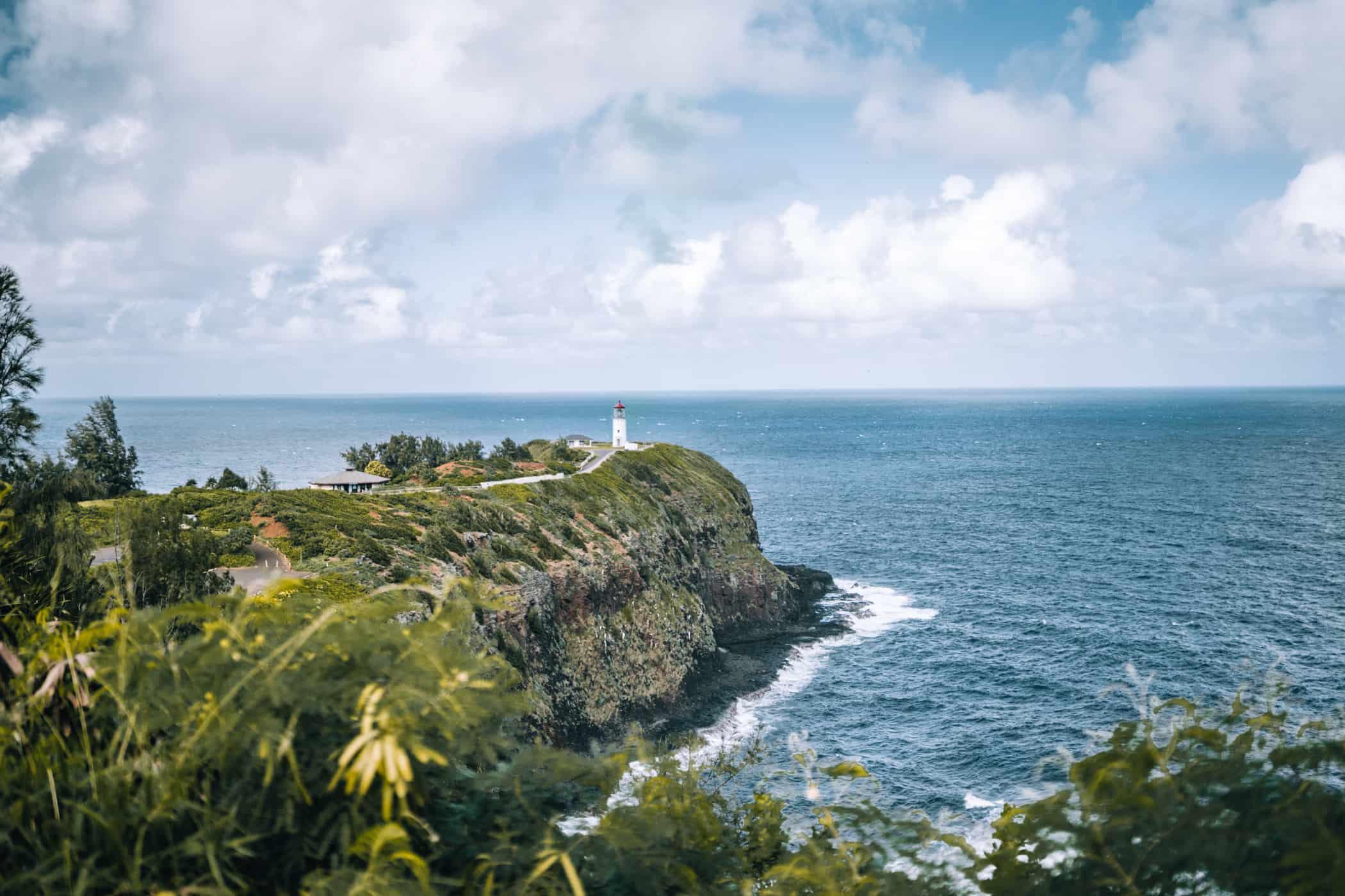 Kauai - Strände, Wandern & Ausflugsziele: Kilauea Lighthouse